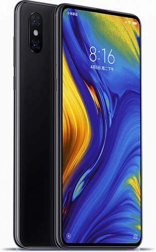 Смартфон Xiaomi Mi Mix 3 128GB/6GB Black (Черный) — фото