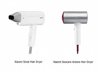 Выбираем фен для волос от Xiaomi: Xiaomi Soocare Anions Hair Dryer или Xiaomi Smat Hair Dryer?