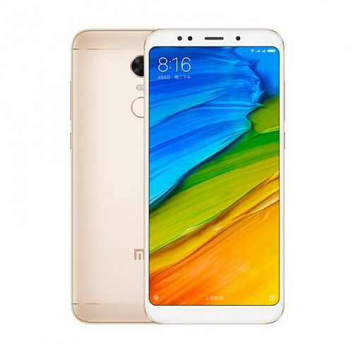 Смартфон Xiaomi Redmi 5 Plus 64GB/4GB Gold (Золотой) — фото