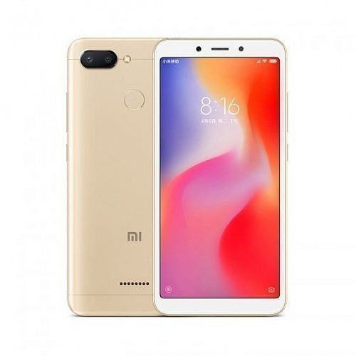 Смартфон Xiaomi Redmi 6 64GB/4GB Gold (Золотой) — фото