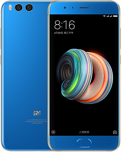 Смартфон Xiaomi Mi Note 3 128GB/6GB Blue (Синий) — фото