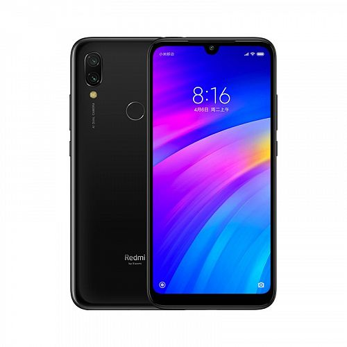 Смартфон Xiaomi Redmi 7 16GB/2GB Black (Черный) — фото